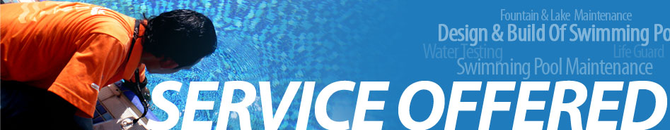 SWIMMING POOL SERVICE,  SWIMMING POOL MAINTENANCE