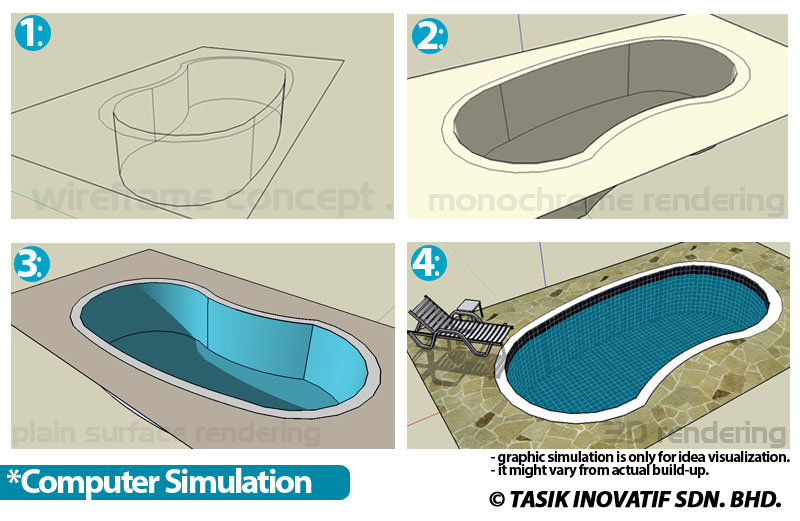 Stunning swimming pool designs drawings images simple for Pool drawing software